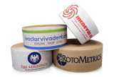 view options for custom printed paper packing tape