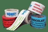 view options for hi-tack freezer custom printed tape