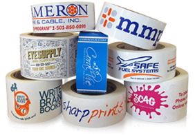 view options for custom printed polypropylene tape