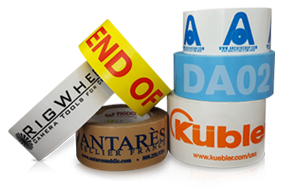 view options for custom printed PVC packaging tape
